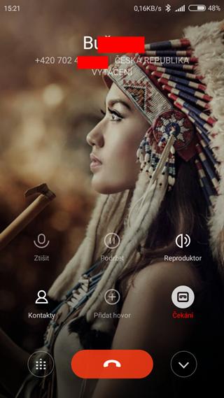 Nahrávání hovorů - Xiaomi Redmi 3