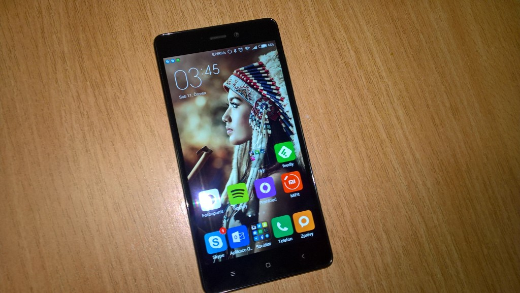 Displej Xiaomi Redmi 3 - Stříbrná varianta