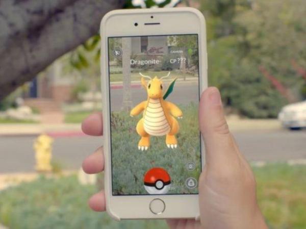 AR mód Pokémon Go