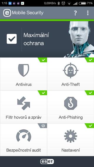ESET ochrana pro Android