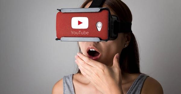 YouTube ve VR na mobilu