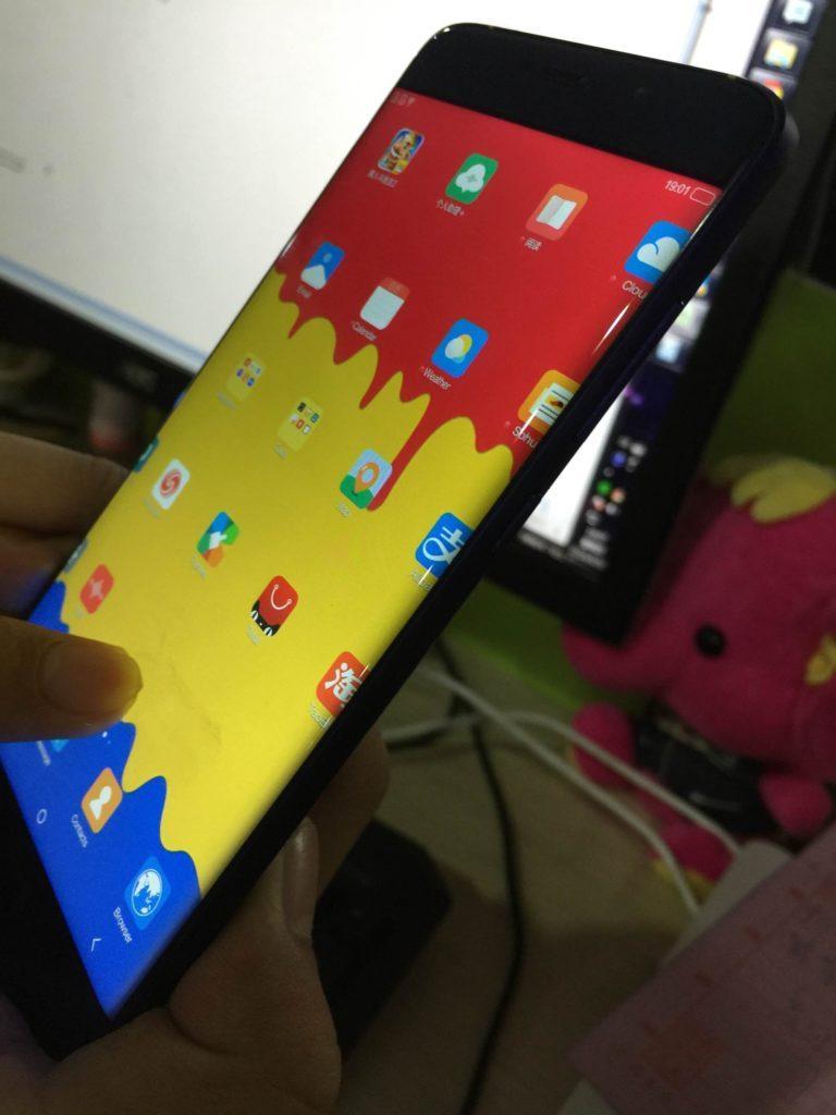 Elephone S7 se zakřiveným displejem