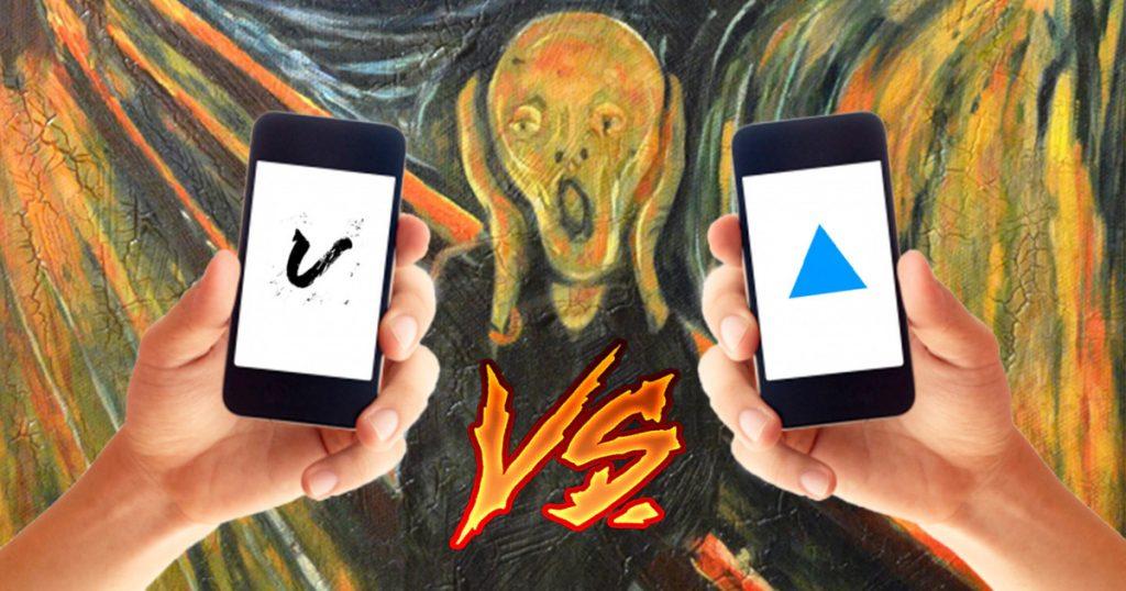 Mobilní aplikace Vinci a Prisma