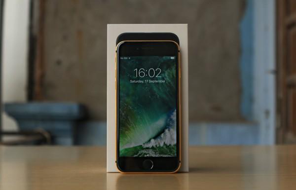 Pozlacený iPhone 7 Plus