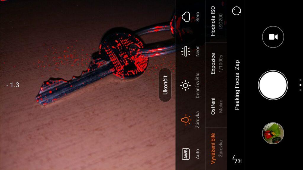 Aplikace na focení/natáčení - Xiaomi Mi 5
