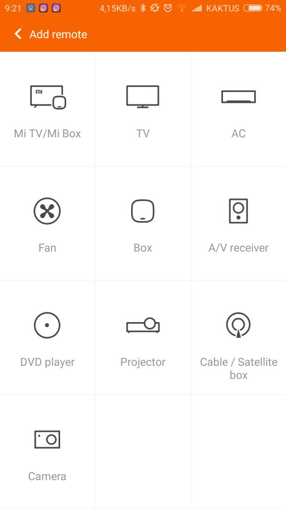 Aplikace pro ovládání TV a dalších spotřebičů