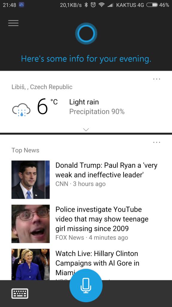 Cortana pro Android