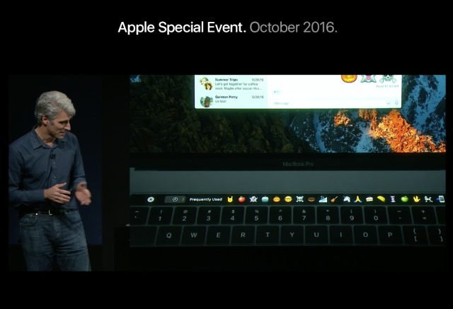MacBook Pro - TouchBar