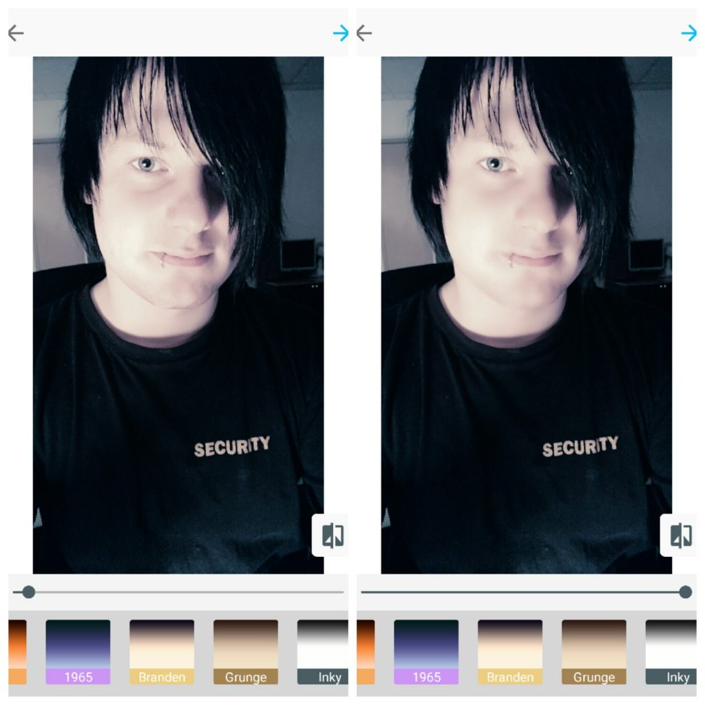 Mobilní aplikace Microsoft Selfie