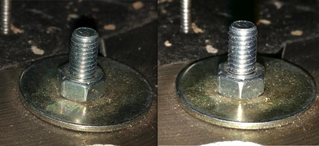 Focení detailu za horších podmínek, použit blesk - Xiaomi Mi5 (vlevo), Honor 8 (vpravo)