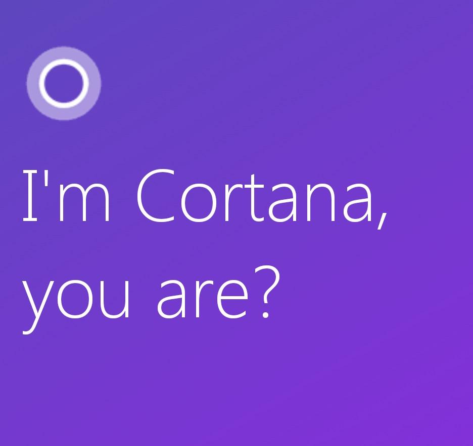 Asistentka Cortana